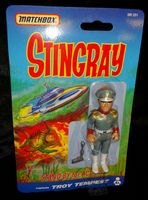 Stingray: Captain Troy Tempest - Action Figure - Sealed on Card